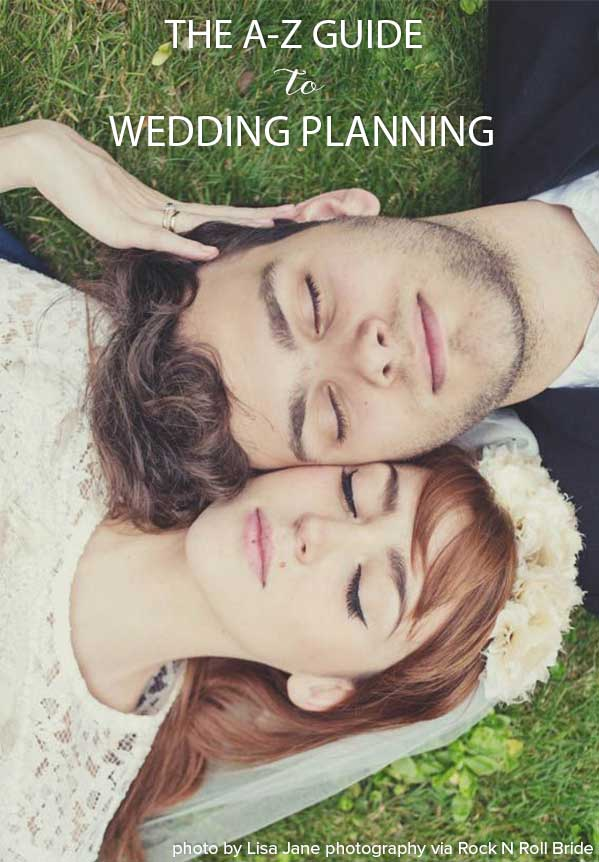 A-Z Guide to Wedding Planning | Bridal Musings Wedding Blog