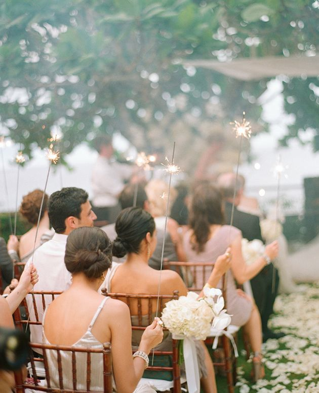 Third Wedding Ideas: Sparklers At Your Wedding: Tips And Photo Ideas