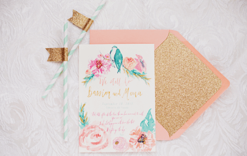 13 Gorgeous Envelope Inserts for your Wedding Stationery