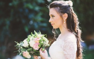 15 Gorgeous Half-Up Half-Down Hairstyles for Your Wedding