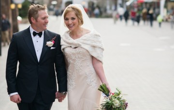 Beautiful Snow-Capped Spring Wedding in Colorado
