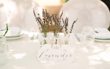 Fresh Linens and French Lavender, Rustic Luxury Wedding Inspiration