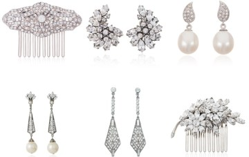 Timeless Elegance and Sheer Glamour, Thomas Laine Bridal Jewelry