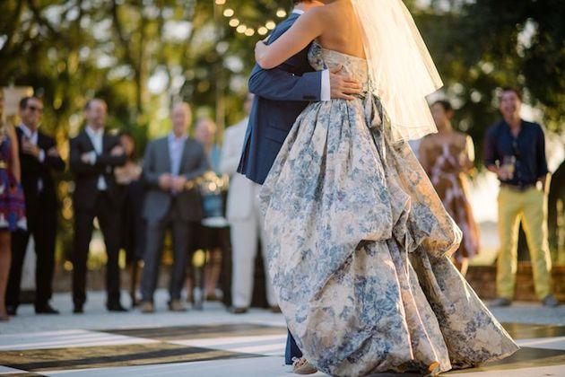 15 Floral Wedding Dresses | Alternative Wedding Dresses | Bridal Musings Wedding Blog 1