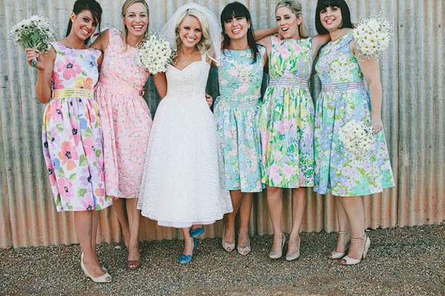 7ba7846f57e5f Etsy Find of the Week: The Retro Bridesmaid Dres