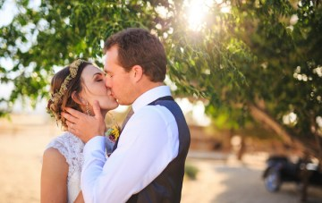 Romantic Western Wedding with Rustic DIY Details