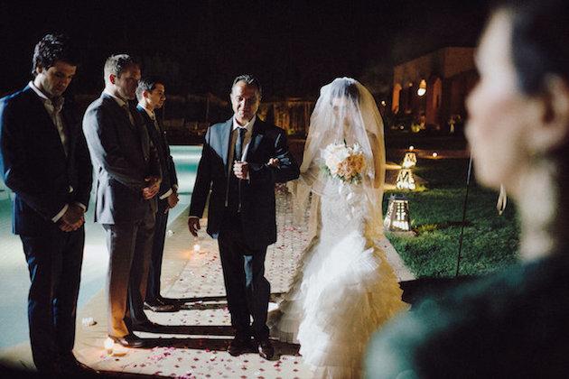 a9c456170512 Beautiful Night-time Wedding in Morocco