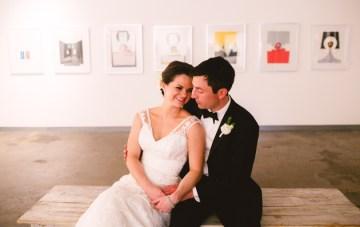 Chic & Modern Art Gallery Wedding