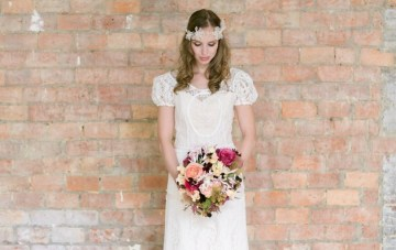 Chic Loft Wedding Inspiration from Belgium