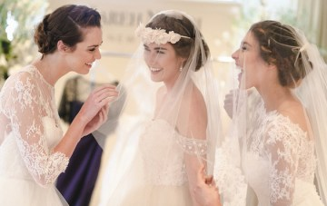 Bridal Fashion Week: Behind the Scenes at the Sareh Nouri 2015 Collection