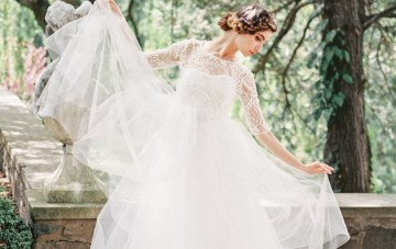 An Exclusive Look at Sareh Nouri's Layla Wedding Dress