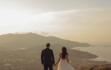 Romantic and Raucous; An Epic Mykonos Wedding Film
