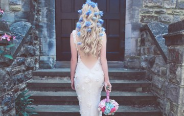 English Garden Wedding Inspiration Shoot (With Simply Gorgeous Hair Ideas!)