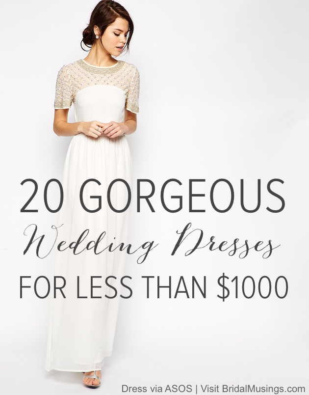 ASOS Wedding Dress For Less Than $1,000