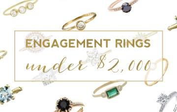 20 Stunning Engagement Rings (Under $2,000)