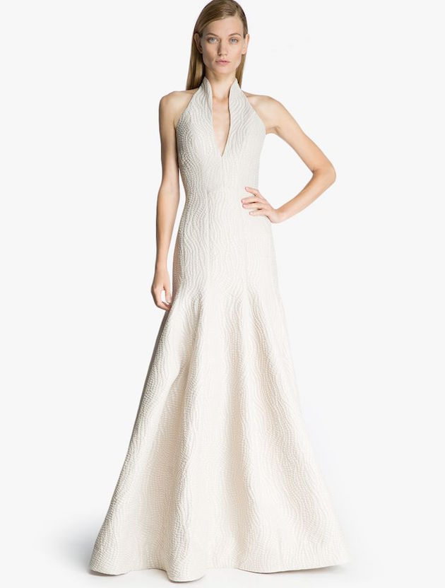 Halston Wedding Dress For Less Than $1,000