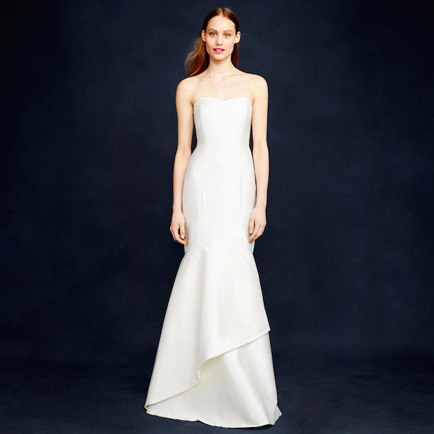 J Crew Wedding Dress For Less Than $1,000