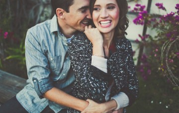 An Adorably Chic Save The Date Shoot and The Coolest Wedding Fair, Ever!