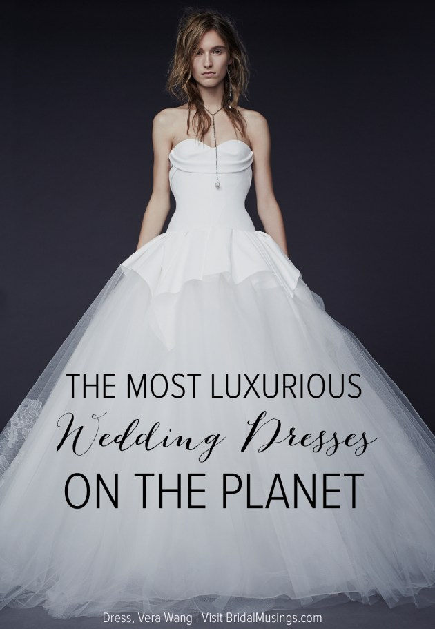 How Much Does a Wedding Dress Cost? The Couture Edition