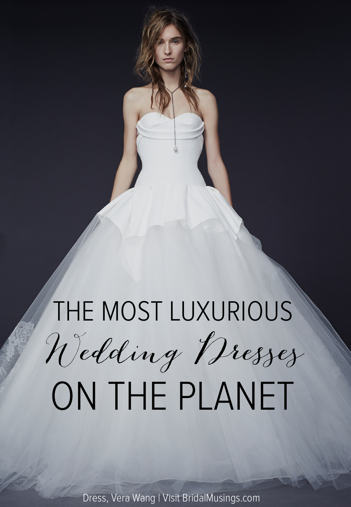 Superior Vera Wang Wedding Dress | Bridal Musings Wedding Blog