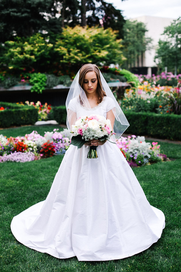 Beautiful Garden Wedding Ideas: Beautiful Garden Wedding Day In Salt Lake City