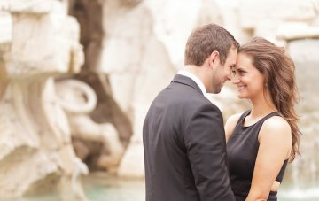 Utterly Romantic Engagement Shoot in Rome