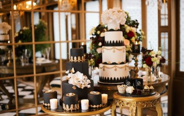 Luxurious Black & Gold Wedding Inspiration
