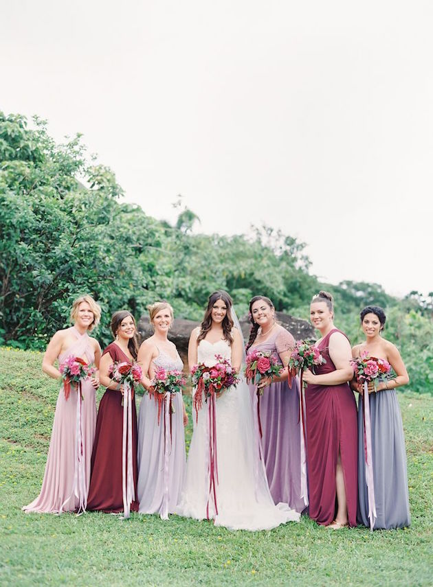 Mix and Match Bridesmaid Dress Ideas | Bridal Musings Wedding Blog 2