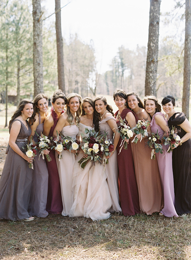 32fa45ca64 35 Ideas for Mix and Match Bridesmaid Dresses