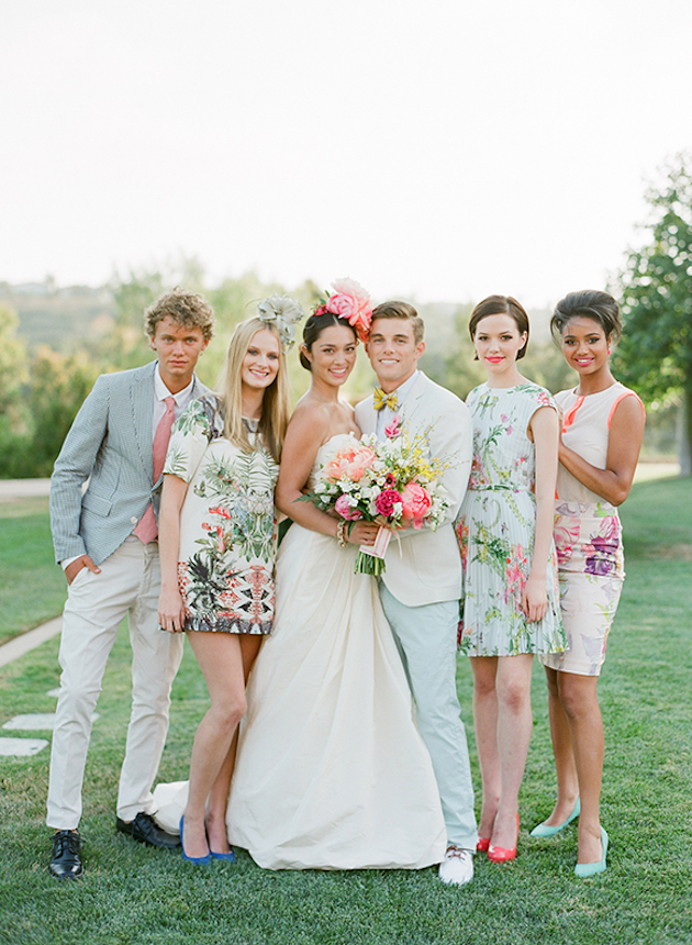 Bridesmaid Floral Dresses