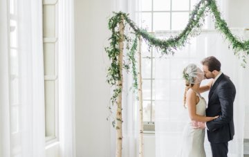 Pure, Clean, Natural; White Wedding Inspiration