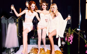 Agent Provocateur; Irresistibly Sexy Bridal Lingerie Collection