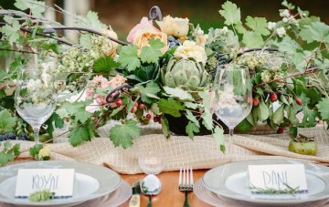 Farm to Table Rustic Wedding Inspiration   Cat Mayer Studio   Bridal Musings Wedding Blog 49