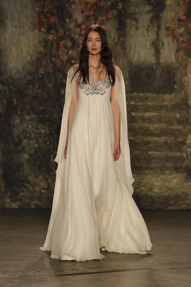 Bridal Shoes With Jenny Packham Dress