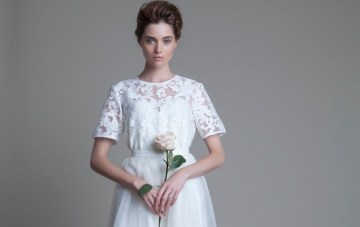 Best British Bridal Designer: Halfpenny London Wedding Dress Collection