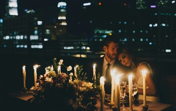 Cool, Edgy & Sexy; Urban Elopement Wedding Inspiration