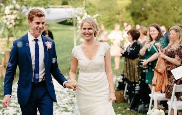 'I'm on Top of the World'; Sweet Nashville Wedding Film