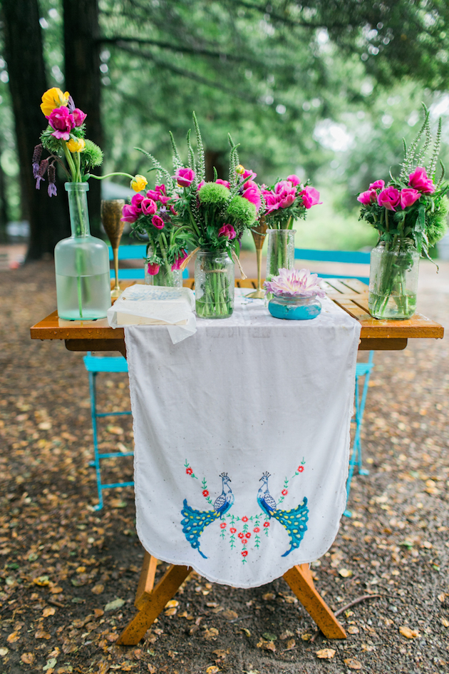 Colourful Redwoods Wedding in the Rain | Caitlin Turner Photography | Bridal Musings Wedding Blog 11
