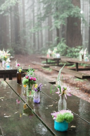 Colourful Redwoods Wedding in the Rain | Caitlin Turner Photography | Bridal Musings Wedding Blog 26