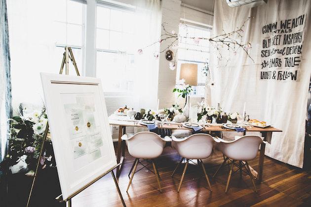 Bohemian Artist's Studio Wedding Inspiration