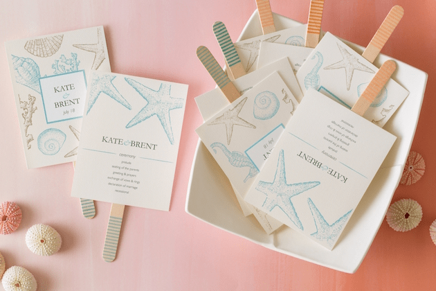 How To Create a DIY Beach Wedding | Avery Design & Printing | Bridal Musings Wedding Blog 13