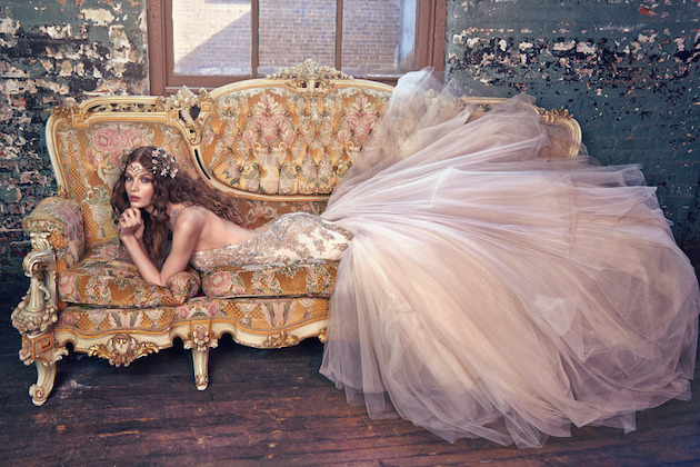 Les Rêves Bohémiens; Insanely Gorgeous Galia Lahav Wedding Dress Collection