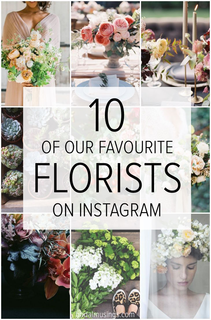 10 of our Favourite Florists to Follow on Instagram