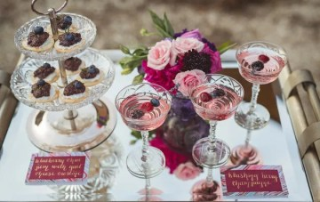 Spring Wedding Inspiration with Rich Fall Hues