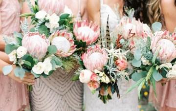 Trend Alert: 20 Gorgeous Protea Bouquets