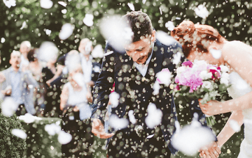 A Quirky, Book-Themed Wedding in Italy