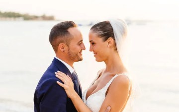 Beautiful Destination Beach Wedding in Greece
