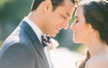 Sweet, Heartfelt, Gorgeous Garden Wedding