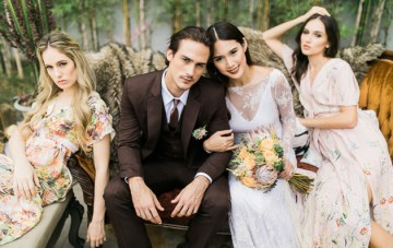 Cool, Colourful, Eclectic Wedding Inspiration