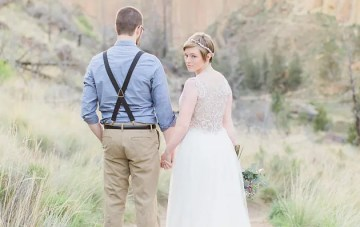 Desert Elopement Inspiration Shoot